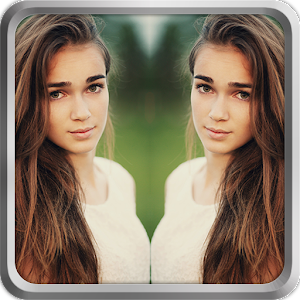 Photo Editor Selfie Camera Filter & Mirror Image Icon