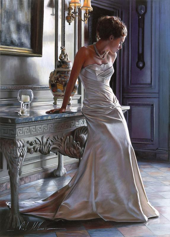 异国画苑(794)英国油画大师罗伯·赫弗兰(Rob Hefferan)作品 - 笑然 - xiaoran321456 的博客