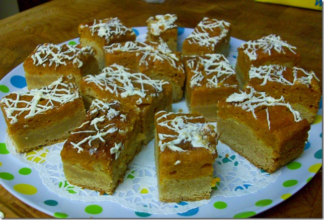 Snickerdoodle Pumpkin Pie Bars