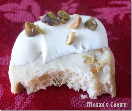 Pistachio Bite Cookies