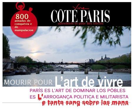 publicitat comentada e sangnosa sobre París0