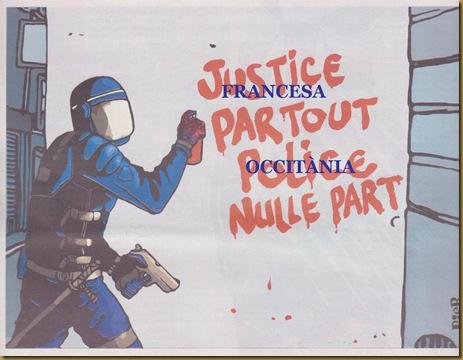Justícia francesa pertot, Occitània a cap endreit