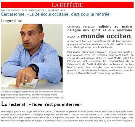 monde occitan DDM 080211 Lo Festenal