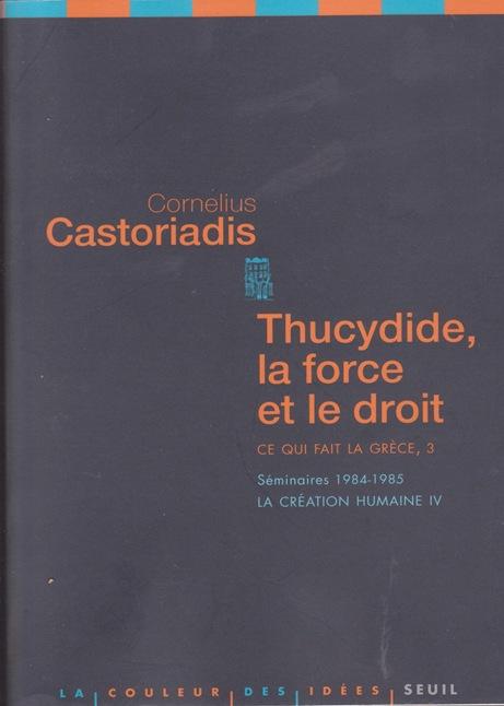 Thucydile Cornelius Castoriadis