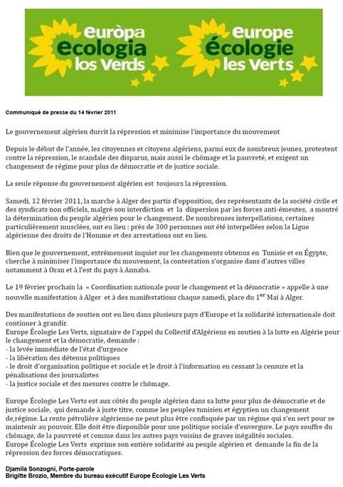comunicat EE Argèria 140211