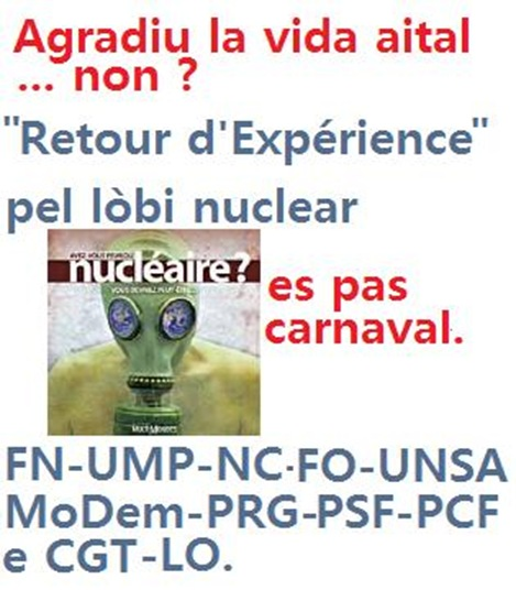 Nuclear agradiu de Carnaval