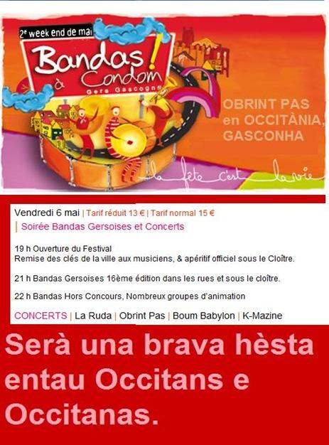 Obrint Pas a Condom 2011
