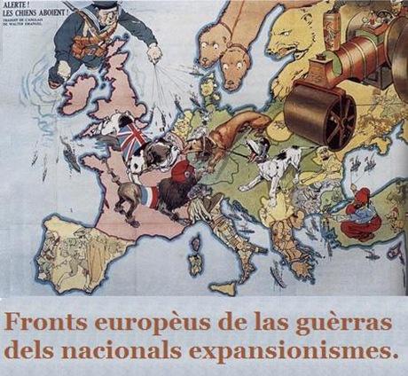 guerras europèas mapa