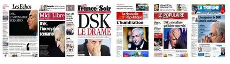 DSK portada dels jornals franceses