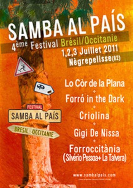 samba país 2011