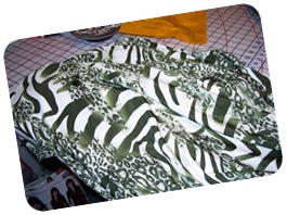 Olive greeen animal print knit-Denver Fabrics-2-2011