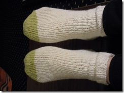 knitting sock 013
