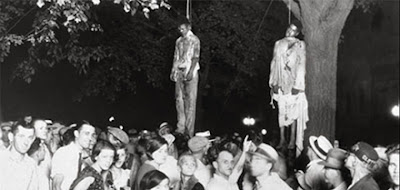 lynching of young blacks