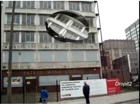 crazy building