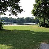 Utgrävningen för Deutsches Stadion blev i stället en sjö - Silbersee