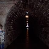 Tunnel från hissen