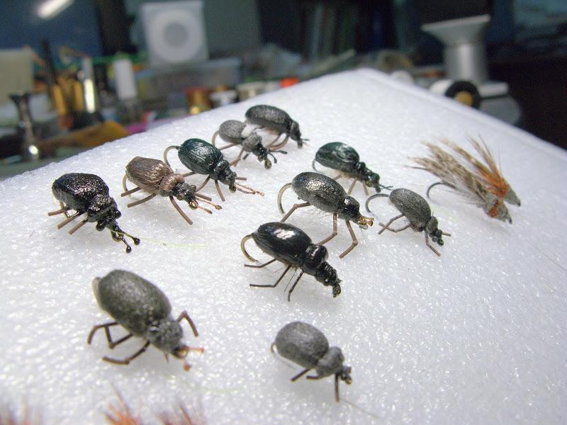 Нахлыстовые мушки жуки своими руками видео