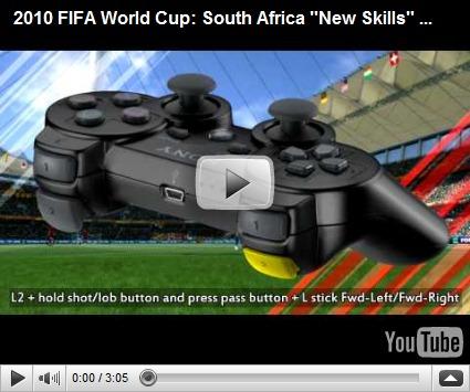Tutorial Fifa 2010 World Cup para PS3