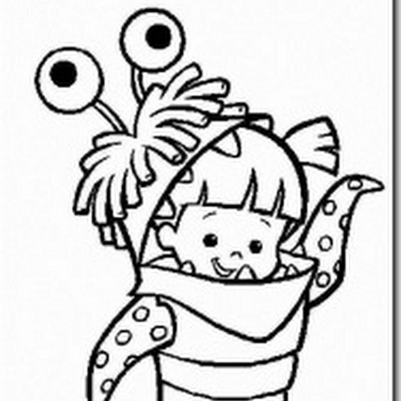 Desenhos para colorir – Monstros SA da Disney