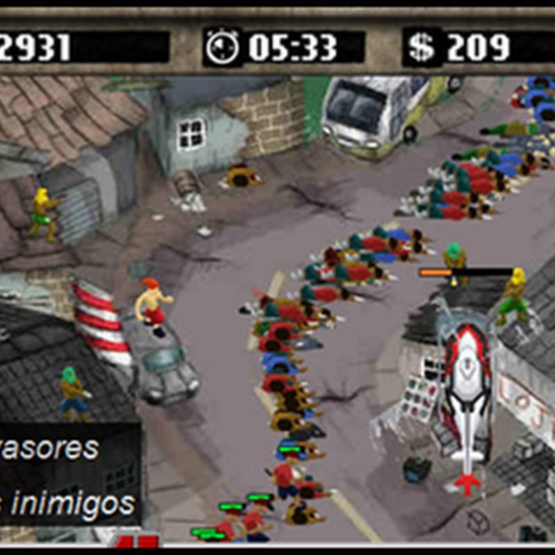 Mais um jogo no Estilo de Favelado Games.