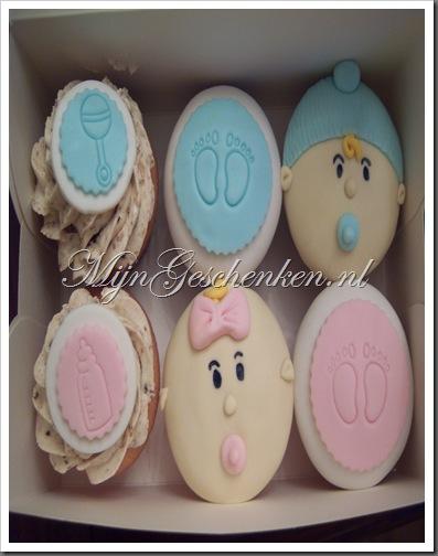 Baby cupcakes & taarten 001