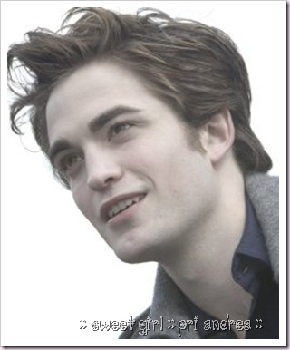Pattinson em Crepúsculo