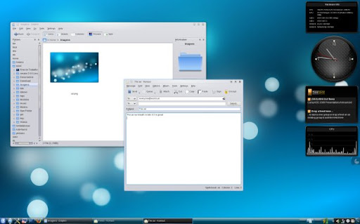 kde 4.2 screenshot