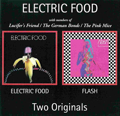 Electric Food ~ 1970 ~ Electric Food + 1971 ~ Flash