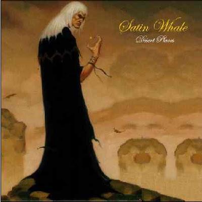 Satin Whale ~ 1974 ~ Desert Places lp cover