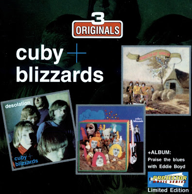 Cuby + Blizzards ~ 1966 ~ Desolation + 1967 ~ Groeten uit Grollo + 1968 ~ Trippin' thru a midnight blues + 1990 ~ Praise the blues