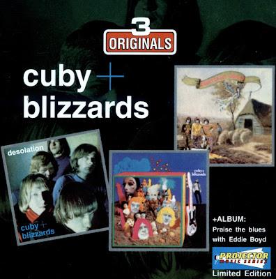 Cuby + Blizzards ~ 1966 ~ Desolation + 1967 ~ Groeten uit Grollo + 1968 ~ Trippin' thru a midnight blues + 1990 ~ Praise the blues