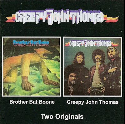 Creepy John Thomas ~ 1968 ~ Brother Bat Bone + 1969 - Creepy John Thomas