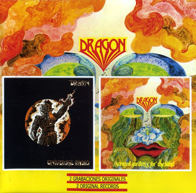 Dragon ~ 1974 ~ Universal Radio + 1975 ~ Scented Gardens For The Blind