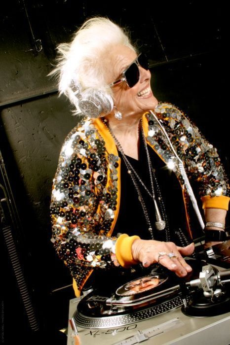 Ruth Flowers - The Oldest Dj in the World 11