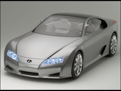 Lexus LF-A Concept 02