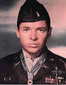 Lieutenant Audie Murphy