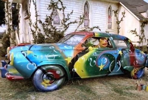 Muppet Art Car