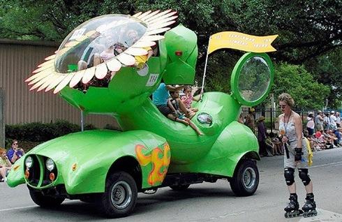 Art-Car-Sunflower