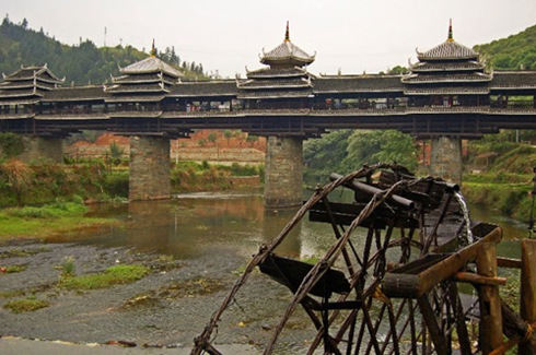 Chengyang-Bridge-Sanjiang-of-Guangxi-Province-China