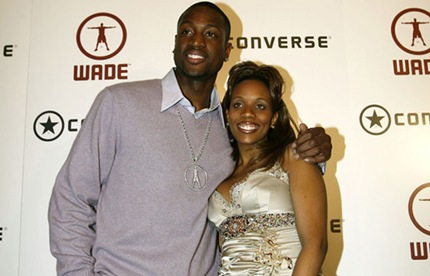 Dwyane and Siovaughn Wade