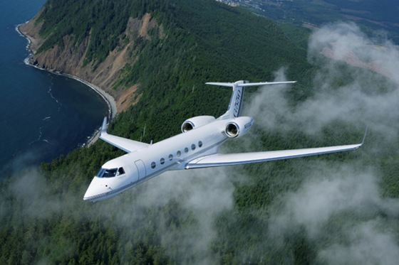 Gulfstream G550 Private Jet