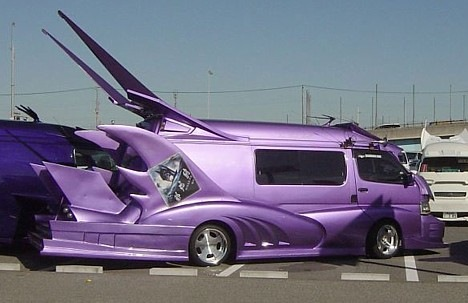 Strange Japanese Custom Vans 07