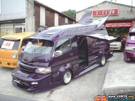 Strange Japanese Custom Vans 15