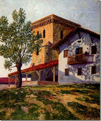Darío de Regoyos -Erandio castillo vizcaino