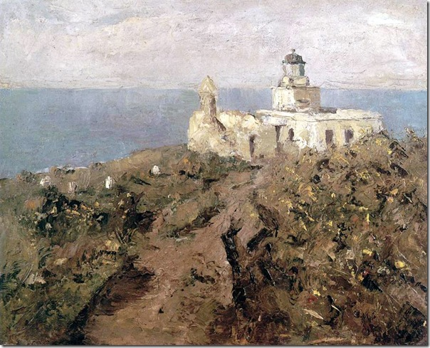 Darío de Regoyos - EL FARO DE SAN SEBASTIAN 1886