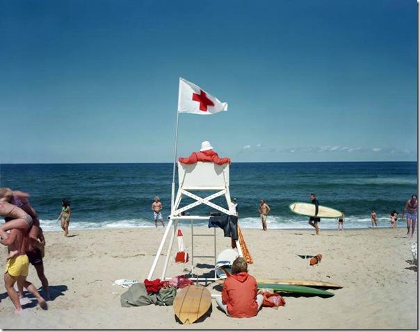 joel meyerowitz - Ballston Beach  Truro  1976