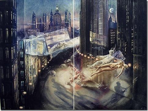 Grabados de Poeta en Nueva YorkNUEVA YORK OFICINA Y DENUNCIA