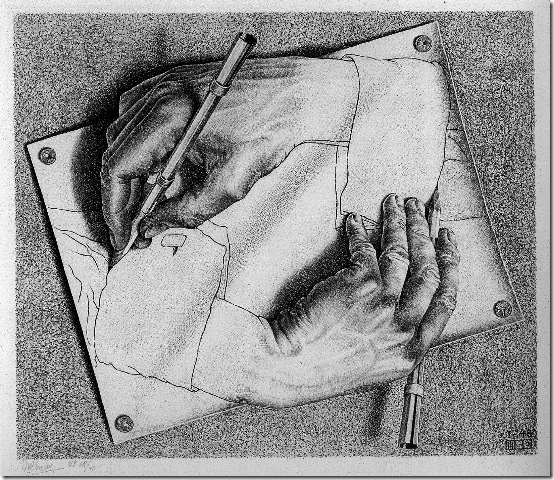 M. C. Escher - DrawingHands