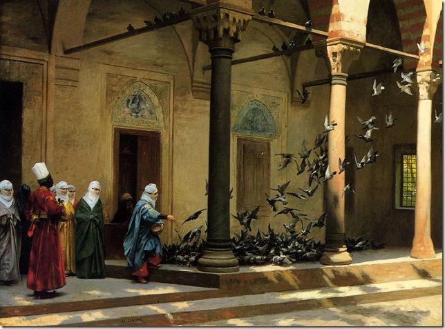 Jean-Leon Gerome - las palomas