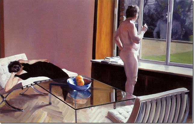 eric fischl -Krefeld Project Sun Room Scene 1, 2002.
